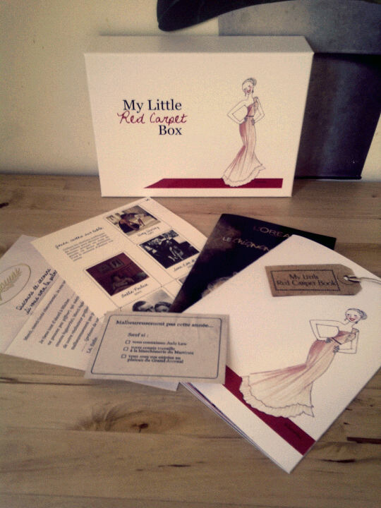 Les goodies de My Little Red Carpet