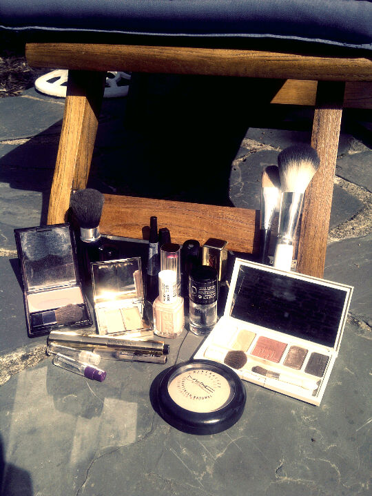 Ma trousse de voyage make-up