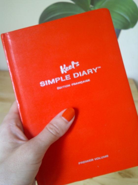 Couverture Simple Diary de Keel's