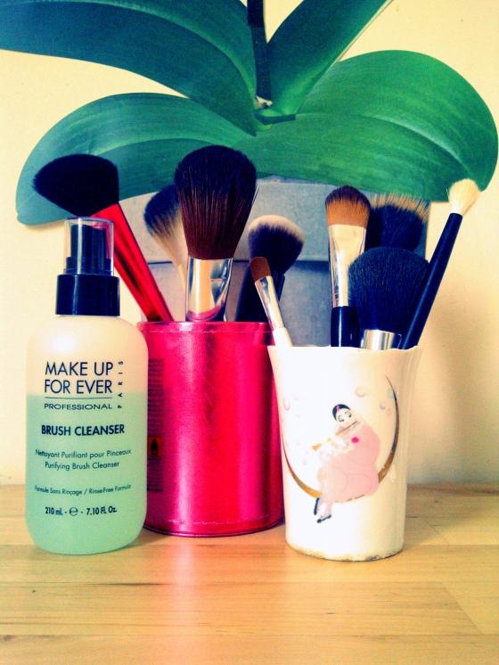Mes pinceaux de maquillage