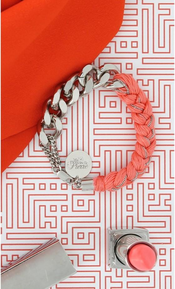 Bracelet gourmette Ma Demoiselle Pierre